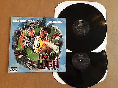 How High  The Soundtrack  2-Lp  2001 Def Jam  Lp Method Man / Redman  Near Mint