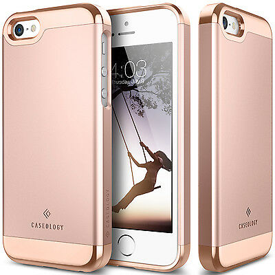For Apple iPhone SE 5S 5 Case Caseology® SAVOY Shockproof Protective Slim Cover