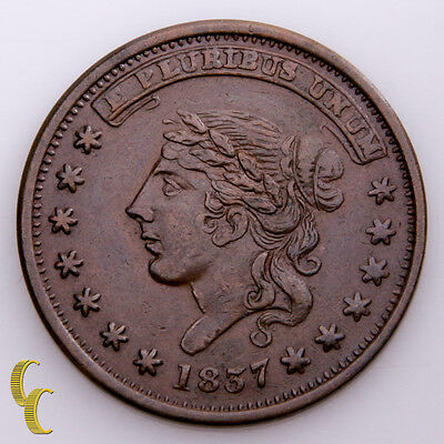 1837 Hard Times Token Not One Cent Liberty (XF) Extra Fine Condition