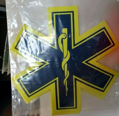 Emergency Medical Star Of Life Sew On Patch