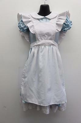 Dance Costume Large Child Blue White Alice in Wonderland Solo Competition