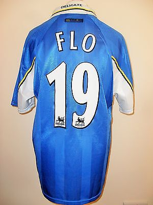 FLO #19 Chelsea Home Football Shirt Jersey 1997-99 (XL)