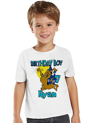 Toddler Youth T-shirt Customized Name and Age Venom Birthday White Infant