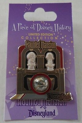 Disney Pin DLR Piece of Disney History I The Haunted Mansion Pin LE1000