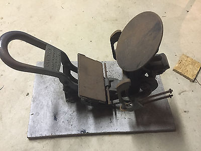 "Vintage Kelsey Excelsior Mercury Model ""N"" 3x5 Printing Press"