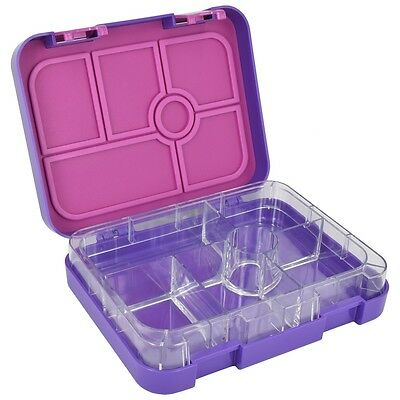 ZenBox Snack Leakproof 6 compartment Bento LunchBox Lunch Kids Adults