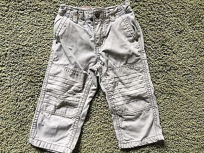 Genuine Kids Baby Boy Gray Pants Size 18 Months EUC
