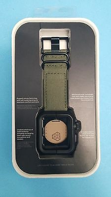 LUNATIK - EPIK Case and Band for Apple Watch 42mm - Green- EPIK-021