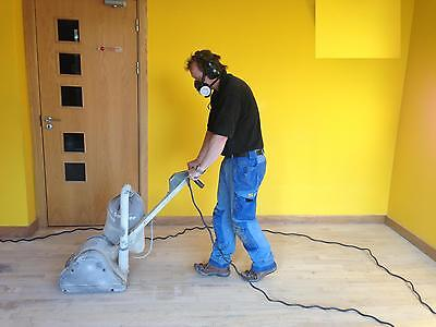 FLOOR SANDING  & RESTORATION BUSINESS Complete Start Up Package anywhere In UK