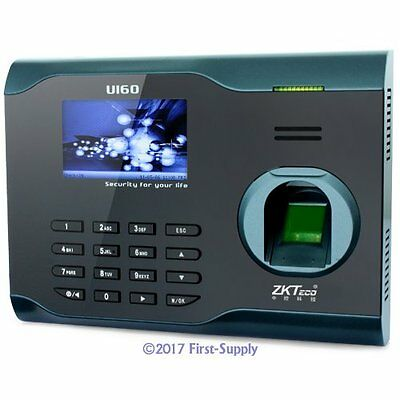 New Fingerprint Time Clock Attendance System With TCP/IP And WiFi Function+USB
