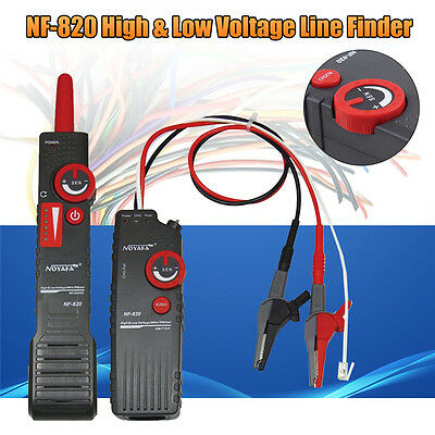 AU NOYAFA High &Low Voltage Cable Tester Underground Cable Wire Locator Tracker