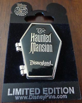 Disney DLR Haunted Mansion Coffin Hitchhiking Ghost Gus Surprise Release Le 500