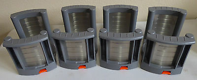 Blum Adjustable Plate Dish Bowl Holders Lot of Four ZTH.035-03