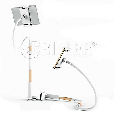 110cm 85mm Mobile Phone Long Arm Universal Flexible Lazy Bed Holder Stand Mount