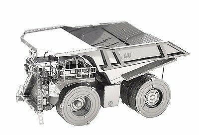 Metal Earth CAT Mining Truck 3D Quality Laser Cut Metal DIY Model Hobby Kit