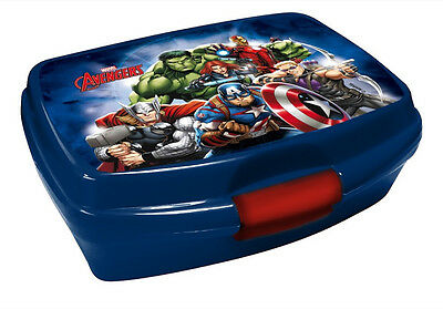 Marvel Avengers Brotdose Lunchbox Brotzeitbox Brotbox Dose Vesperbox Kind