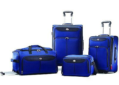 AMERICAN TOURISTER BY SAMSONITE Luggage Set 4 Piece Expandable Suitcase Carry On