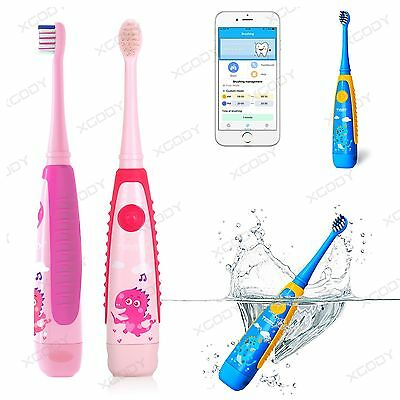 Electric Toothbrush Soft Smart Healthy APP Connect Oral Care Gift for Children