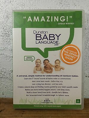 Dunstan Baby Language : Programme One From Birth - Dvd - As Seen On Oprah Show !