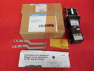 Westinghouse Bfd80T *nib* Relay Latch With Bfmlt 8 N.o. 240Vdc Coil (3C3)
