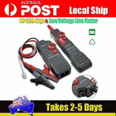 NOYAFA NF-820 High &Low Voltage Cable tester Underground Wire Tracker Test Tools