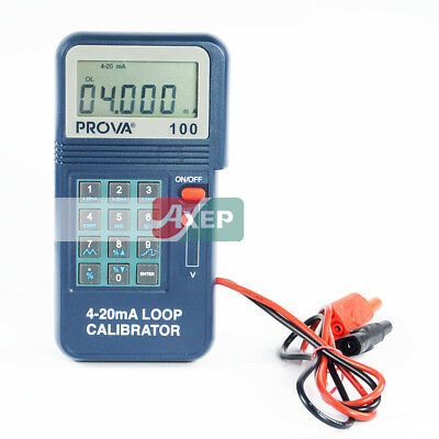 PROVA-100 Process loop Calibrator 4-20mA Brand New TES Meter