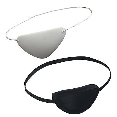 Medisure Medical Healthcare Hard Plastic PVC Eye Protection Eyeshade Patch