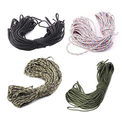 550 Paracord Parachute Cord Lanyard Mil Spec Type III 7 Strand Core100FT UO