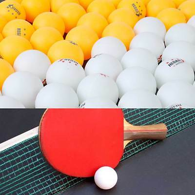 100pcs Professional 40mm Olympic Ping-Pong balls White/Orange Table Tennis Ball