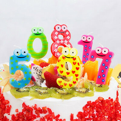 Numbers Candle Cake Candles Anniversary Ages Party Kids Birthday Decor Ornaments