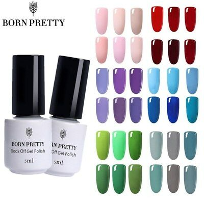 BORN PRETTY Nail UV Gel Polish Soak Off Nail Art Manicure LED Gel Varnish 5ml