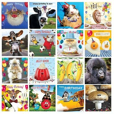 Gogglies 3D Moving Eyes Funny  Birthday Card A Design To Suit All 1St P&p L@@k