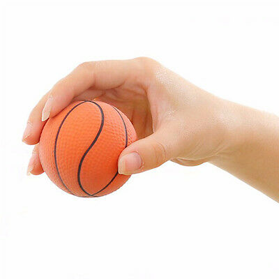 Anti Stress Ball Soft Foam Squeezing Basketball Play Mood Toy Gift Relief ADHD