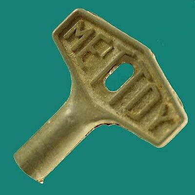 Original Old Vintage METTOY Key for Tinplate Clockwork Trains Cars Toys VGC