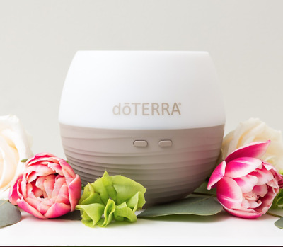 NEW doTERRA Petal Diffuser Essential Oil Light Timer Fog Silent Aromatherapy