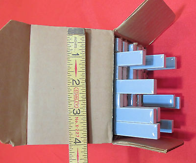 42X  American Olean Liner Tiles...Ceramic...Blue-Gray #21...New in Box...1960's