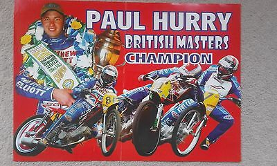 Paul Hurry British Masters Champion Poster 2002