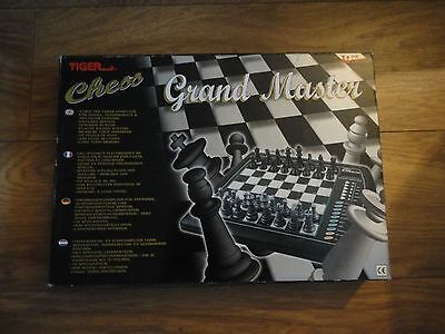 Grand Master Electronic Chess Game by Tiger Electronics