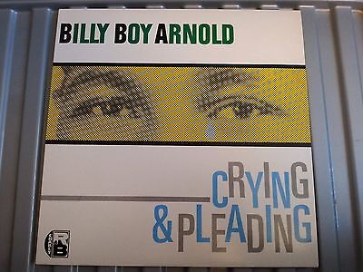 Billy Boy Arnold - Crying & Pleading - Lp Record - R&b