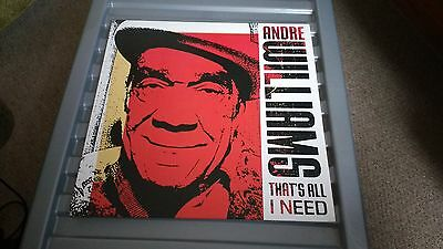 Andre Williams That's All I Need R&b  Lp Record