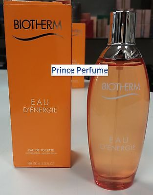 BIOTHERM EAU D'ENERGIE EDT VAPO NATURAL SPRAY - 100 ml