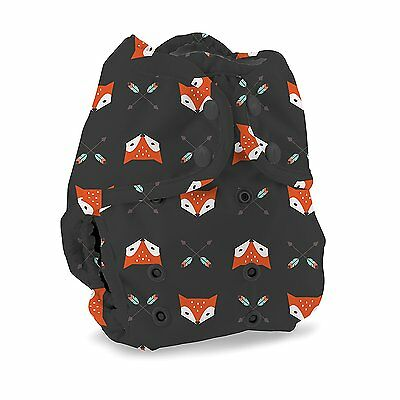 """Buttons Cloth Diaper Cover â?"""" Snap Super One Size 12-40lbs Sherwood"""