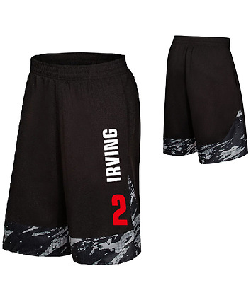 Kyrie Irving #2 Basketball Gym Training Practice Shorts Pants Xl-5Xl