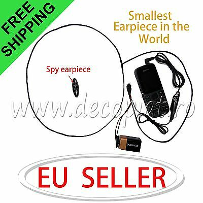 Invisible Earpiece Hidden Wireless mini Ear Earphone for phone exam earpieces