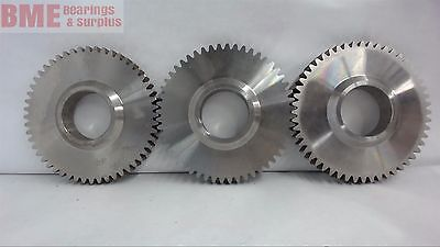 Lot Of 3, 52 Tooth Gear, 1 1/2'' Bore, 1/4'' Pitch, 4 5/16'' Od