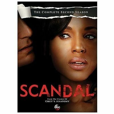Scandal: The Complete Second Season (DVD, 2013, 5-Disc Set)  NEW