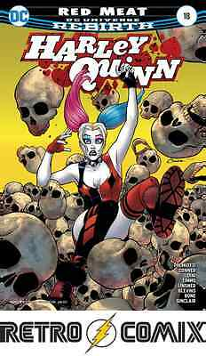 Dc Rebirth Harley Quinn #18 First Print New/unread Bagged & Boarded