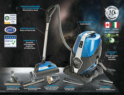 Sirena 2 In one Vacuum and air purification System (Demo machine)