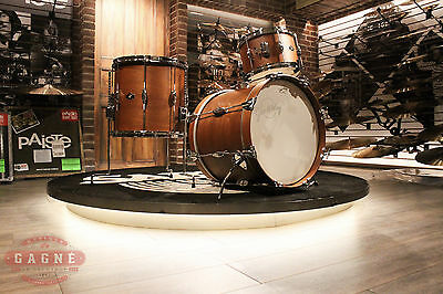 George Way Tradition Mahogany 3-piece Natural Bop Drumset (12-14-18) - New!