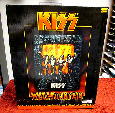 KISS Wall Fountain In Box With Original Unopened Styrofoam Casing
